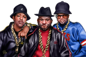 RUN DMC Classic by Frayna77
