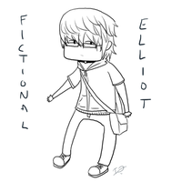 Fictional Elliot by issabissabel