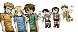 SnK Shipping by Just-Me143
