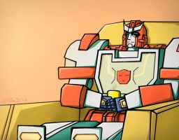Ratchet IDW by Guard-of-Minasteris
