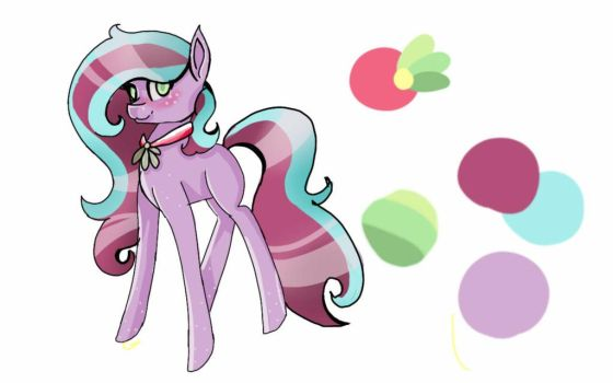 Park .:A redesign/ New OC:. by LunarCatherine