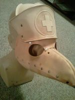 Nurse Plague Doc Mask WIP by Skinz-N-Hydez