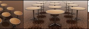 Table Caf 3D by Mxser