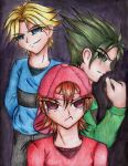 The Rowdyrough Boys Animefied by TheSketcher