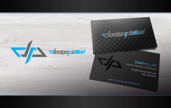 Design Philled Business Cards by DesignPhilled