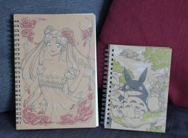 Hand painted pads by AsuraRena