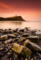 Kimmeridge Bay At Dawn by Dave-Ellis