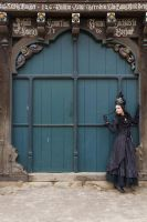 Stock - Victorian Lady door 4  gothic by S-T-A-R-gazer