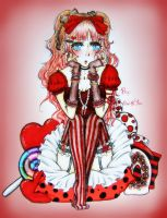 Sweet Red Lolita by RedStar-Sama