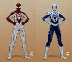 Webhead 2.0 designs part 2 by Tloessy