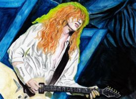 Dave Mustaine for Booogey by Red-Szajn