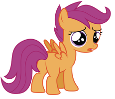 You Make Scootaloo Sad by RainbowDerp98