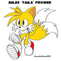 Miles Tails prower by Duzartesa