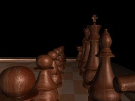 Chess by jecomoria