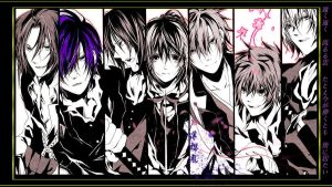 DIY wallpaper for Hakuoki by FadingMelody