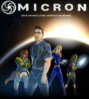 Omicron Poster by Isomatter