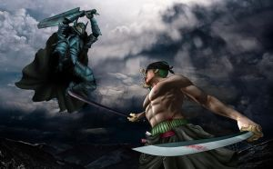 Guts vs Zoro #2 by Gait44