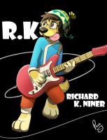 Furnal Equinox badge: R.K. Niner by pandapaco