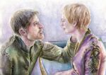 Jaime and Cersei by Opheliac98