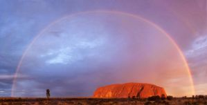 Uluru Dreaming by Lightkast