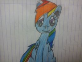 Rainbow Dash by MrCreeperTheBrony