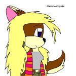 Christie Coyote by trombonefoxgirl