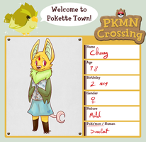 PKMN Crossing app - Cherry by blinding-eclips