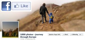 1000 photos - journey through Europe by photo-earth