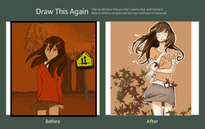 Draw this again Challenge 2010 1012 by Zuriko-chan
