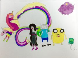 Adventure Time Portrait by vitaminanime
