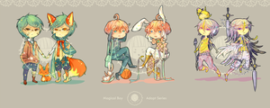 Magical Boy Adoptables 72 H Auction: { CLOSED } by WanyaaGoAdopts