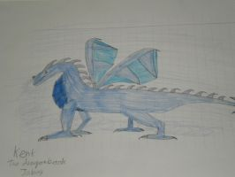 Kent the mist dragon by woodywoodwood