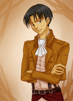 Corporal Rivaille by IrinaFestner94