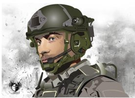MW3 by lettherebeart