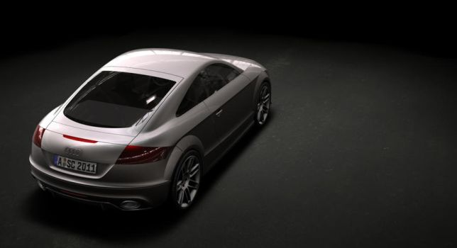 Audi TT in Alias and Showcase by spidermanneo
