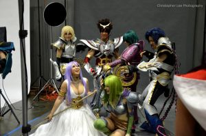 Yaya Group Shoot 2 by saxartist05