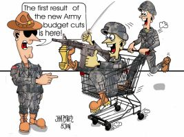 Army Budget Cuts by mslchief