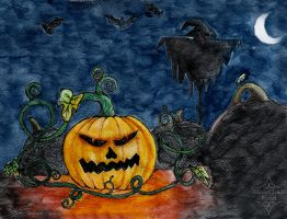 Wicked Pumpkin by Pinutte