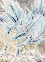 ACEO - Frost Dragon by Gomis
