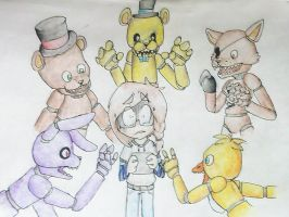 Five Nights at Freddy's by SlendyFox321