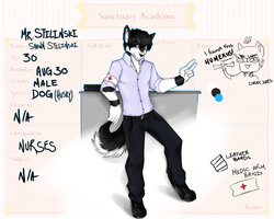 S-A Nurse (STAFF) - Shawn Stilinski by NekoMellow