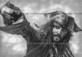 Captain Jack by lupinemagic