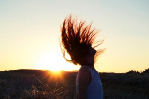 Sunshine in my hair... by Laivin