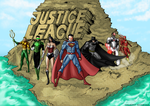 Justice League by Axel2396