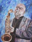 Sax player by osnatrot