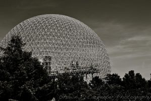 Biosphere Montreal by spcbrass