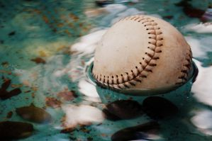 baseball in water. by M-Jaeger123