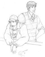 outlines: The Fool and the Kid by LadyAshton