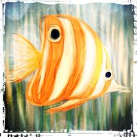 Lonely fish by Mims1975b
