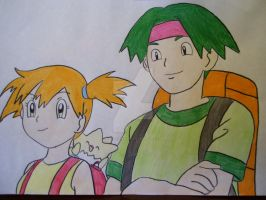Misty and Tracey Sketchit by AJLeefan4life